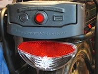 36 volt battery and tail-light
