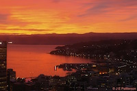 Sunrise, Oriental Bay